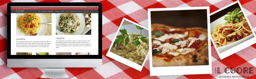 Nova web Il Cuore Restaurant Italià de Reus, amb noves avantatges