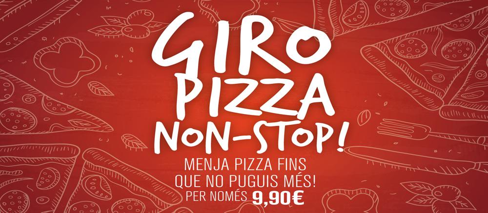 Ja coneixes el Giropizza?