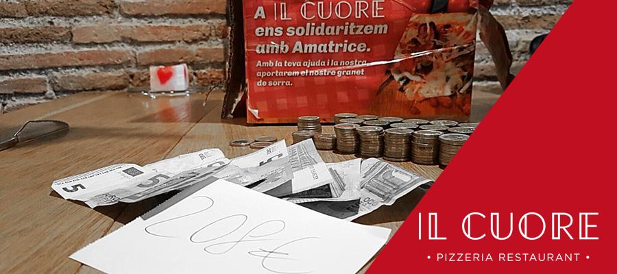 Il Cuore s'avança a la nit de Reis per ajudar a les víctimes dels terratrèmols d'Itàlia