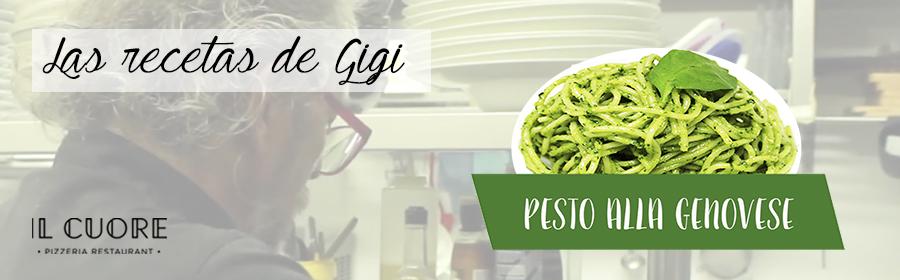 Las recetas de Gigi: Pesto alla Genovese